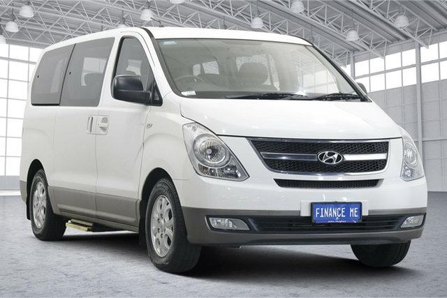 Used Hyundai iMAX TQ-W MY15 Victoria Park, 2015 Hyundai iMAX TQ-W MY15 White 5 Speed Automatic Wagon