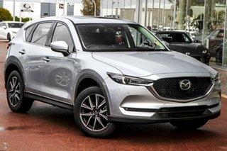 2021 Mazda CX-5 KF4WLA GT SKYACTIV-Drive i-ACTIV AWD Silver 6 Speed Sports Automatic Wagon.
