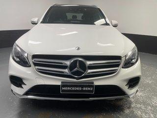 2017 Mercedes-Benz GLC-Class X253 808MY GLC350 d 9G-Tronic 4MATIC White 9 Speed Sports Automatic.