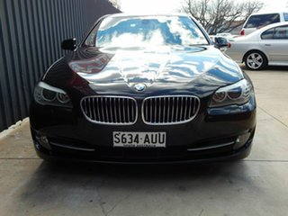 2012 BMW 5 Series F10 MY0911 520d Steptronic Black 8 Speed Sports Automatic Sedan.
