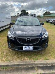 2013 Mazda CX-5 KE1031 MY13 Grand Touring SKYACTIV-Drive AWD Black 6 Speed Sports Automatic Wagon.