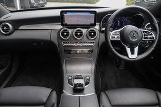 2021 Mercedes-Benz C-Class W205 801MY C300 9G-Tronic Obsidian Black 9 Speed Sports Automatic Sedan