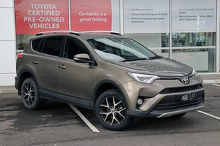 2016 Toyota RAV4 ZSA42R GXL 2WD Brown 7 Speed Constant Variable Wagon.