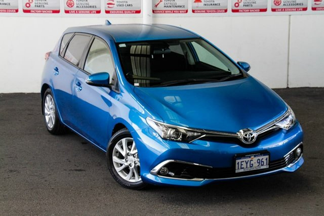 Pre-Owned Toyota Corolla ZRE182R MY15 Ascent Sport Rockingham, 2015 Toyota Corolla ZRE182R MY15 Ascent Sport Blue Gem 7 Speed CVT Auto Sequential Hatchback