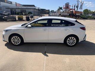 2020 Kia Cerato BD MY21 S White/250820 6 Speed Sports Automatic Hatchback