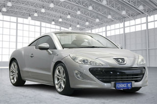 2013 Peugeot RCZ Silver 6 Speed Manual Coupe.