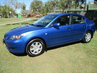 2004 Mazda 3 BK10F1 Neo Blue 5 Speed Manual Sedan.