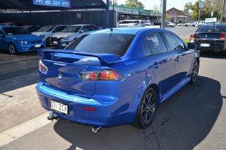 2016 Mitsubishi Lancer CF ES Sport Blue 6 Speed CVT Auto Sequential Sedan.