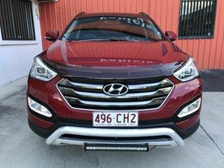 2015 Hyundai Santa Fe DM2 MY15 Highlander Red 6 Speed Sports Automatic Wagon.