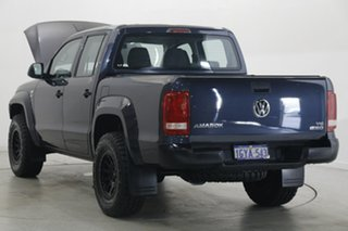 2019 Volkswagen Amarok 2H MY20 TDI550 4MOTION Perm Core Blue 8 Speed Automatic Utility.