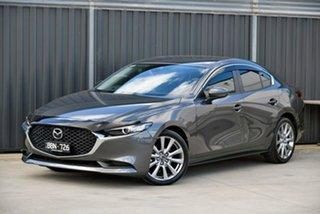 2019 Mazda 3 BP2SLA G25 SKYACTIV-Drive Evolve Grey 6 Speed Sports Automatic Sedan.