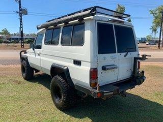1992 Toyota Landcruiser HZJ75RV Troopcarrier White 5 Speed Manual Hardtop