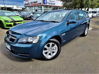 2009 Holden Commodore VE MY09.5 Omega Sportwagon Blue 4 Speed Automatic Wagon.