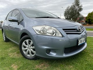 2011 Toyota Corolla ZRE152R MY11 Ascent Silver 6 Speed Manual Hatchback.