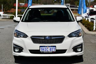 2018 Subaru Impreza G5 MY18 2.0i-L CVT AWD White 7 Speed Constant Variable Sedan