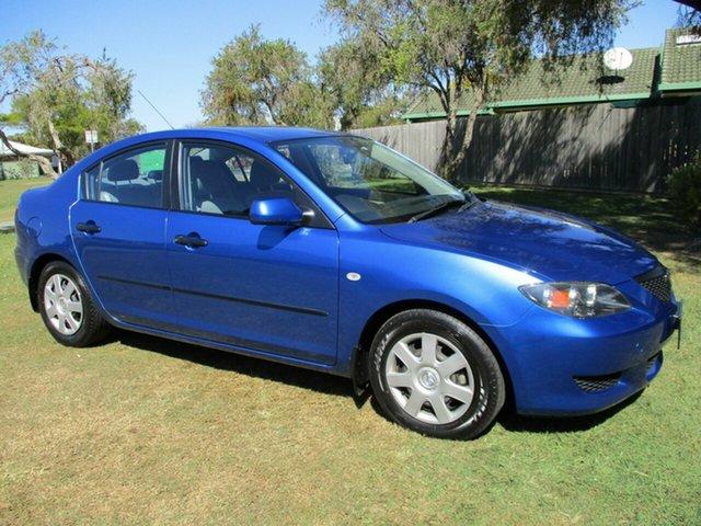 Used Mazda 3 BK10F1 Neo Kippa-Ring, 2004 Mazda 3 BK10F1 Neo Blue 5 Speed Manual Sedan