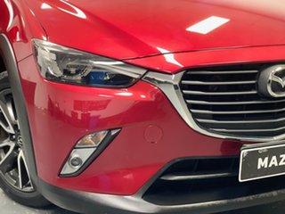 2016 Mazda CX-3 DK2W7A Akari SKYACTIV-Drive Red 6 Speed Sports Automatic Wagon.