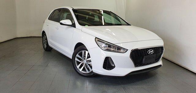 Used Hyundai i30 PD2 MY18 Active Elizabeth, 2018 Hyundai i30 PD2 MY18 Active White 6 Speed Sports Automatic Hatchback