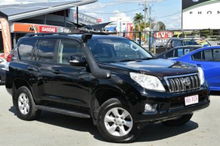 2012 Toyota Landcruiser Prado KDJ150R 11 Upgrade Altitude (4x4) Black 5 Speed Sequential Auto Wagon.