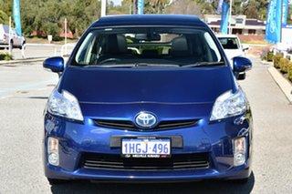 2011 Toyota Prius ZVW30R I-Tech Blue 1 Speed Constant Variable Liftback Hybrid