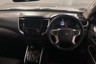 2017 Mitsubishi Triton MQ MY17 GLS Double Cab Silver 5 speed Automatic Utility