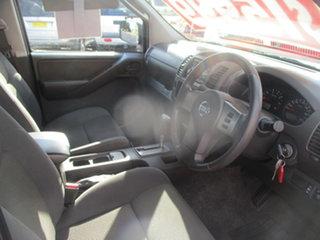 2011 Nissan Navara D40 ST (4x4) Silver 5 Speed Automatic Dual Cab Pick-up