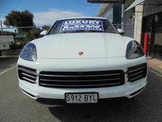 2018 Porsche Cayenne 9YA MY19 Tiptronic White 8 Speed Sports Automatic Wagon.