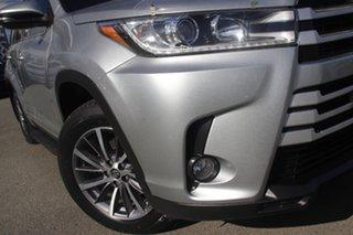 2018 Toyota Kluger GSU55R GXL AWD Silver Storm 8 Speed Sports Automatic Wagon.