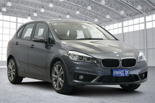 2016 BMW 2 Series F45 220i Active Tourer Steptronic Sport Line Grey 8 Speed Automatic Hatchback.