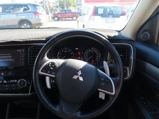 2014 Mitsubishi Outlander ZJ MY14 LS (4x4) White Continuous Variable Wagon
