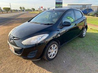 2013 Mazda 2 DE10Y2 MY13 Neo Black 5 Speed Manual Hatchback.