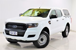 2018 Ford Ranger PX MkII 2018.00MY XL White 6 Speed Sports Automatic Utility.