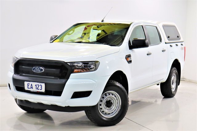 Used Ford Ranger PX MkII 2018.00MY XL Brooklyn, 2018 Ford Ranger PX MkII 2018.00MY XL White 6 Speed Sports Automatic Utility
