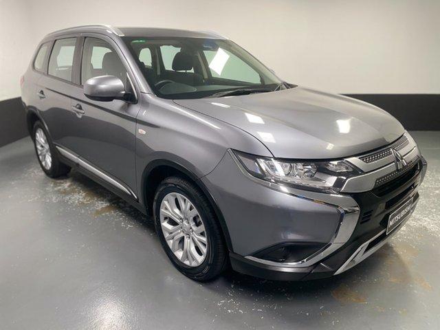 Used Mitsubishi Outlander ZL MY19 ES 2WD Raymond Terrace, 2019 Mitsubishi Outlander ZL MY19 ES 2WD Grey 6 Speed Constant Variable Wagon