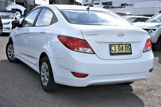 2016 Hyundai Accent RB3 MY16 Active White 6 Speed Constant Variable Sedan