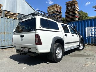 2008 Holden Rodeo RA MY08 LX Crew Cab White 5 Speed Manual Utility.