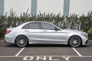 2019 Mercedes-Benz C-Class W205 809MY C63 AMG SPEEDSHIFT MCT S Iridium Silver 9 Speed