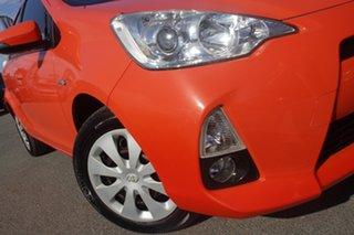 2012 Toyota Prius c NHP10R E-CVT Sunrise 1 Speed Constant Variable Hatchback Hybrid.