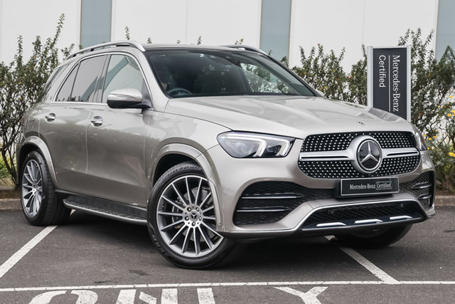Certified Pre-Owned Mercedes-Benz GLE-Class V167 800+050MY GLE300 d 9G-Tronic 4MATIC Mulgrave, 2020 Mercedes-Benz GLE-Class V167 800+050MY GLE300 d 9G-Tronic 4MATIC Mojave Silver 9 Speed