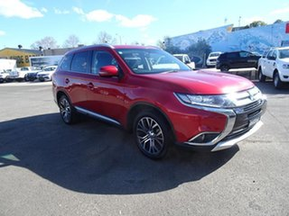 2017 Mitsubishi Outlander ZK MY17 LS 4WD Red 6 Speed Automatic Wagon.