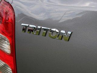 2016 Mitsubishi Triton MQ MY17 Exceed Double Cab Grey 5 Speed Sports Automatic Utility.