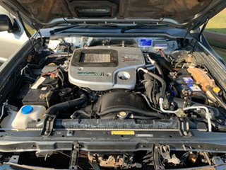 2003 Nissan Patrol GU III MY2003 ST Silver 5 Speed Manual Wagon