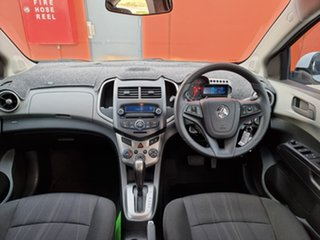 2014 Holden Barina TM MY14 CD White 6 Speed Automatic Sedan.