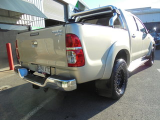 2012 Toyota Hilux GGN25R MY12 SR5 Double Cab Gold 5 Speed Automatic Utility
