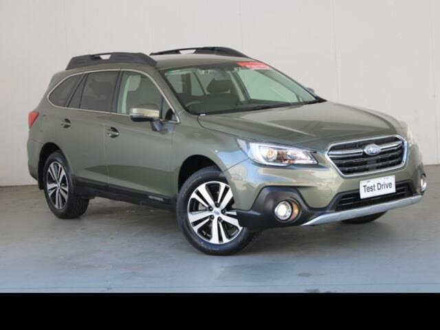Used Subaru Outback MY18 2.5i AWD Phillip, 2019 Subaru Outback MY18 2.5i AWD Wilderness Green Continuous Variable Wagon