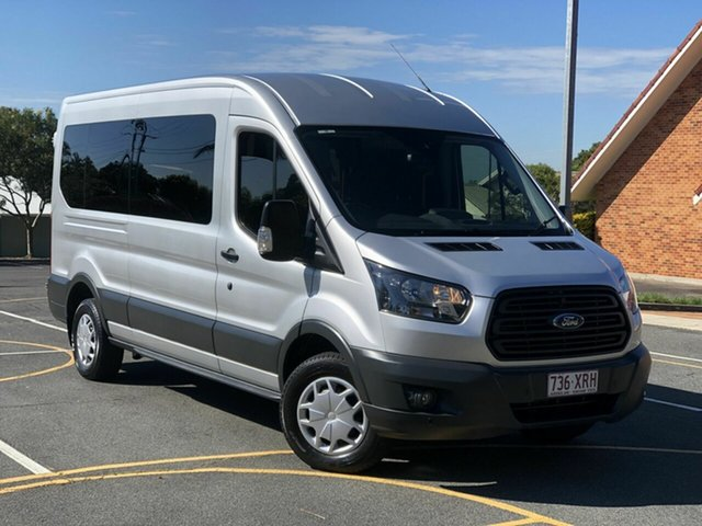Used Ford Transit VO 410L Mid Roof Chermside, 2016 Ford Transit VO 410L Mid Roof Silver 6 Speed Manual Bus