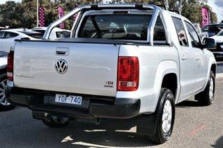 2013 Volkswagen Amarok 2H MY13 TDI420 4Motion Perm Trendline Silver 8 Speed Automatic Utility