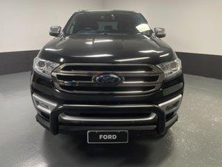 2017 Ford Everest UA Titanium Black 6 Speed Sports Automatic SUV.