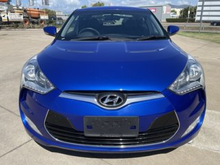 2011 Hyundai Veloster FS Coupe D-CT Blue 6 Speed Sports Automatic Dual Clutch Hatchback