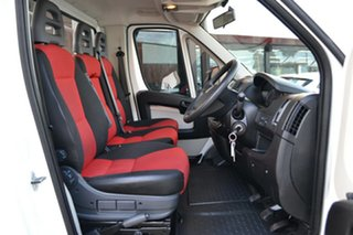 2014 Fiat Ducato Series II MY12 White 6 Speed Manual Cab Chassis.